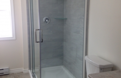 8 U-tile shower